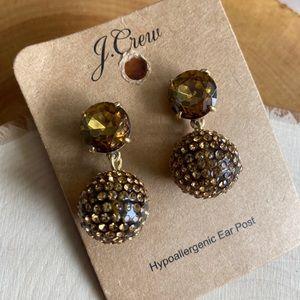 💝 FINAL NWT JCREW Honey Pave Earrings